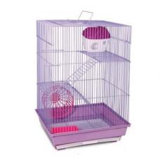 Клетка для грызунов 3303К (3-х этажная) Китай