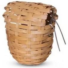 Гнездо-корзина для птиц лоза 90*100мм