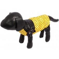 Жилет для собак желтый, черный