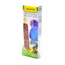 Палочки Benelux Seedsticks budgies Tropical fruit x 2 pcs для волнистых попугайчиков, тропические фрукты, 110 г