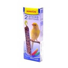 """Лакомые палочки Benelux Seedsticks canary Multi-Color x 2 pcs """"Красивые перышки"""" для канареек, 110 г"""