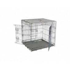 Клетка металлическая с 2 дверками, 76x54x61 см, Wire cage 2 doors