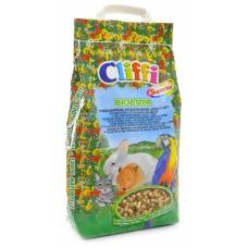 Био-наполнитель Cliffi Biolitter для кошек, грызунов и птиц, 6 кг
