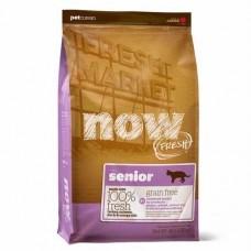 Корм Now Fresh Grain Free Senior Cat Recipe для кошек, контроль веса, беззерновой, индейка/утка/овощи, 7.26 кг