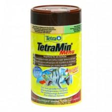 Tetra 100мл Min Menu хлопья 4-х видов