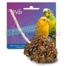 Лакомая шишка для волнистых попугаев и канареек, 1 шт.