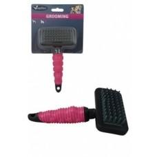 Массажная щетка-расческа, средняя, 18х10 см, Massage brush medium
