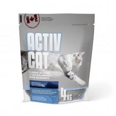 ActivCat Комкующийся наполнитель, аромат альпийской свежести , Scoopable Litter, 4 кг