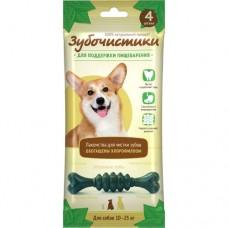 Зубочистики для собак средних пород, мятные, 4 шт, 70 гр