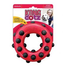 """Игрушка Kong Dotz """"Кольцо"""" для собак, большое, 15 см"""