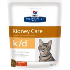 Hill's Prescription Diet Feline k/d при заболевании почек, курица