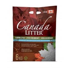 """Canada Litter Канадский комкующийся наполнитель """"Запах на замке"""" с ароматом детской присыпки, Scoopable Litter, 12 кг"""
