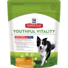 Hill's Science Plan Youthful Vitality корм для собак средних пород старше 7 лет для борьбы с возрастными изменениями, 10 кг