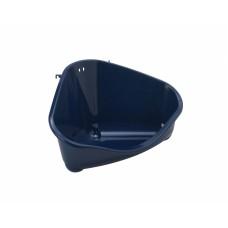 Туалет для грызунов pet's corner угловой большой, 49х33х26, черничный, pet's corner large