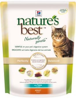 Hills Nature's Best натуральный корм для кошек от 1 до 7 лет, тунец с овощами,  300 гр
