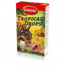 SANAL д/грызунов 45г Tropical Drops с фруктам