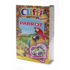 Cliffi Для попугаев с ягодами фрутти и орехами, Super Premium Parrot