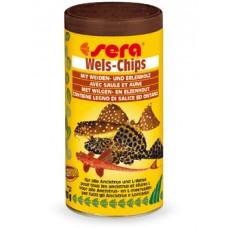 SERA 0511 Wels-chips 250мл чипсы д/сомиков