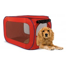 Переносной домик для собак средних пород, 50,8x50,8x81,3 см, полиэстер, Portable dog kennel medium