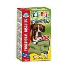 """Cliffi Бисквиты для крупных собак """"Здоровые зубы"""", Dental care big size, 350 гр"""