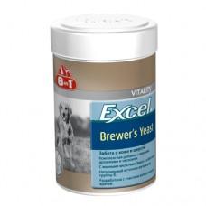 Пивные дрожжи 8 в 1 Excel Brewer's Yeast для собак и кошек, 1430 таблеток