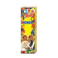 Cliffi Лакомство для Кроликов: палочки с медом, Sticks rabbits with honey, 110 гр