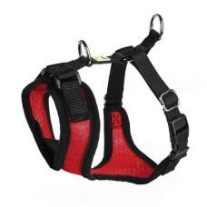 Шлейка Hunter Manoa для собак, нейлон/сетчатый текстиль, красный