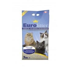 """Eurolitter Комкующийся наполнитель """"Контроль запаха"""", без пыли, аромат детской присыпки, Dust Free, 15 кг"""