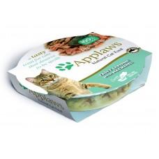 "Applaws консервы для кошек ""Лакомые сардинки со скумбрией"", Cat Tasty Sardine with Mackerel, 60 гр"