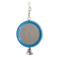 Зеркало круглое с колок.8*5,5см пластик010200 IPTS