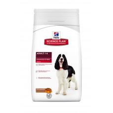 Hills Science Plan Canine Adult Advanced Fitness Medium корм для собак мелких и средних пород от 1 до 6 лет, ягненок/рис, 3 кг
