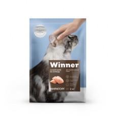 Корм Winner для стерилизованных кошек, курица