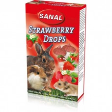 SANAL д/грызунов 45г Strawberry Drops с клубн