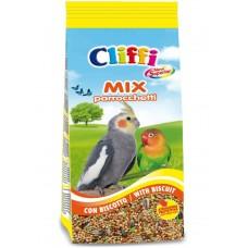 Cliffi Смесь отборных семян для длиннохвостых попугаев с бисквитом, Superior Mix Parakeets with biscuit, 1 кг