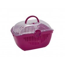 Переноска-корзинка Moderna Toprunner large, ярко-розовый, 48х36х32 см
