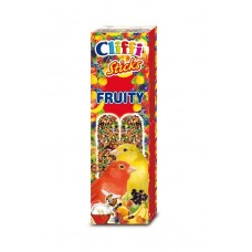 Палочки Cliffi Sticks Canaries with Fruit and Honey для канареек, фрукты/мед, 60 г