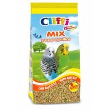 Cliffi Смесь отборных семян для волнистых попугаев с бисквитом, Superior Mix Pappagallini with Biscuit, 1 кг