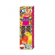 Cliffi Лакомства для канареек: палочки с яйцом и медом, Sticks Canaries with eggs and honey, 60 гр