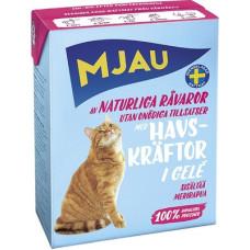 Корм MJAU для кошек, лангуст, в желе, tetra, 380 г