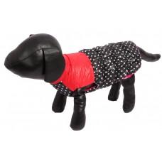 жилет для собак красный, черный