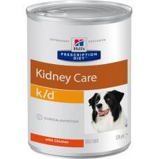 Корм Hills Prescription Diet k/d Kidney Care для собак при хронической болезни почек, диетический, банка, 370 г