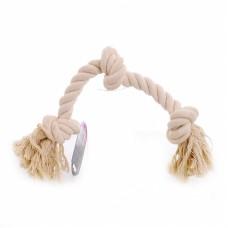 """Игрушка Papillon Cotton flossy toy 3 knots для собак """"Канат с 3 узлами"""", хлопок, 45 см"""