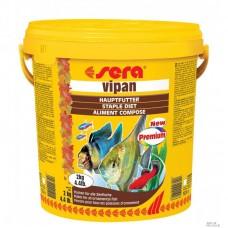 SERA 0195 Vipan 20л (4кг) хлопья для всех рыб