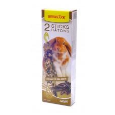 Лакомые палочки Benelux Seedsticks dwarfrabbits Carobs X 2 pcs, для карликовых кроликов, 2 шт, 130 г