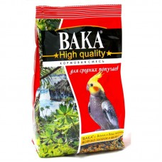 Корм Вака High Quality для средних попугаев, 500 г