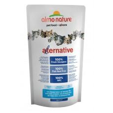 Корм Almo Nature Alternative Sturgeon and Rice для кошек со свежим осетром (55% мяса)