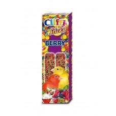 Cliffi Лакомства для канареек: палочки с лесными ягодами и медом, Sticks Canaries with wildberries and honey, 60 гр