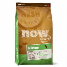 Корм Now Fresh Grain Free Kitten Recipe для котят, беззерновой, индейка/утка/овощи