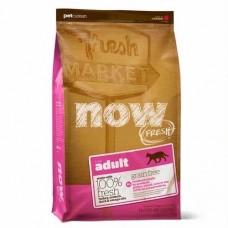Корм Now Fresh Grain Free Adult Cat Recipe для взрослых кошек, беззерновой, индейка/утка/овощи
