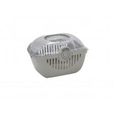 Переноска-корзинка Moderna Toprunner medium, средняя, теплый серый 39х29х25 см